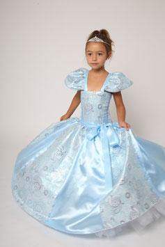 Robe de princesse Cendrillon Bleu