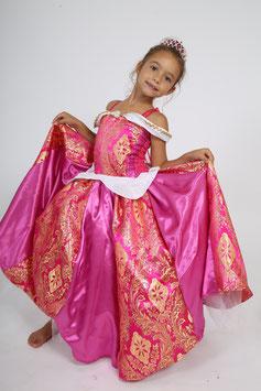 Robe de princesse, déguisement enfant, Aurore