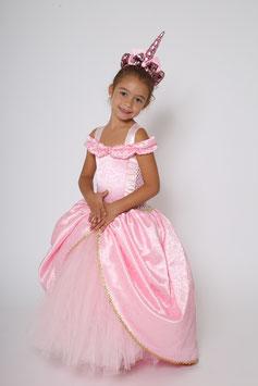 Robe de princesse, déguisement enfant de licorne