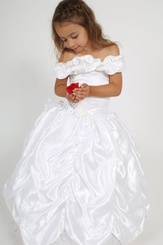 Robe de princesse blanche