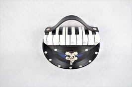 Single Tasche (halb) Piano