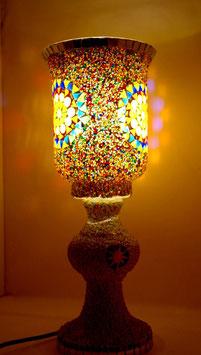 Mosaiktischlampe 3