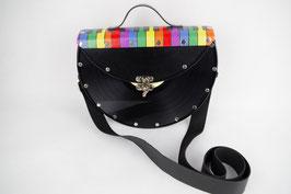 LP Tasche (halb) Regenbogen