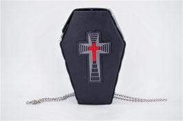 Rucksack + Umhängetasche Sarg Kreuz