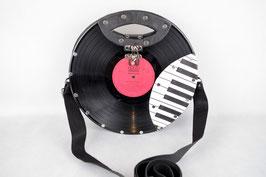 Ovaler Handgriff   Schwarz (Piano oval)