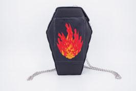 Rucksack + Umhängetasche Feuer