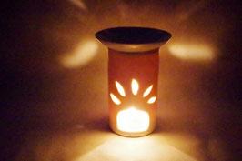 Duftlampe  Keramik Zylinder Sonne