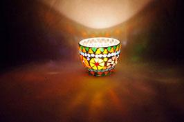 Mosaik Windlicht Schale