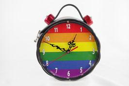 Uhrentasche Regenbogen
