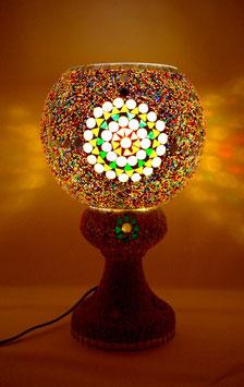 Mosaiktischlampe 4
