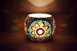 Mosaik Windlicht  Spiegel