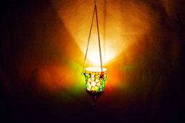 Mosaik Hänge Windlicht Schmall
