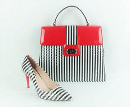 Zebra 2 (schwarz-rot)