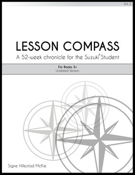 NEW!!   Lesson Compass for Suzuki Books 3+