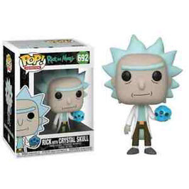 RICK & MORTY WHITH CRYSTAL