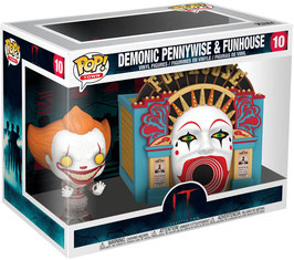 DEMONIC PENNYWISE & FUNHOUSE