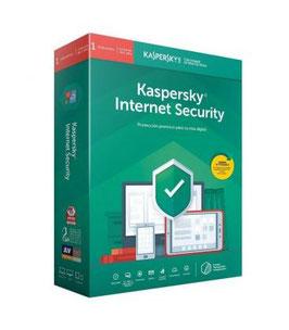 NTIVIRUS KASPERSKY INTERNET SECURITY 2020 - 1 DISPOSITIVO - 1 AÑO - NO CD
