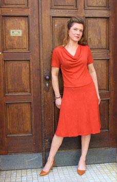 Kleid Bleibtreu Orange