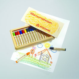 Artikel Nr. 32500 - 16 Farben im Holzkasten