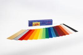 Artikel Nr. 63100 - Wachsfolien 18 Farben