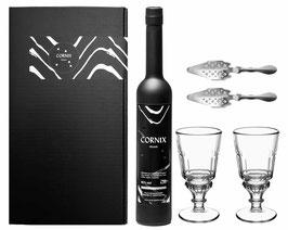 Cornix Absinth Geschenk Set (1 x 0.5l) 65% vol.