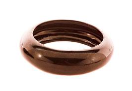 Bracelet laqué noir