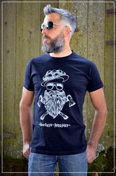 """T-Shirt """"Blackest-Forester"""" , Black"""