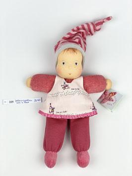 Böllerpüppchen Wolle mit Kleid 164