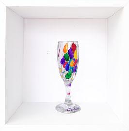 handbemaltes Glas