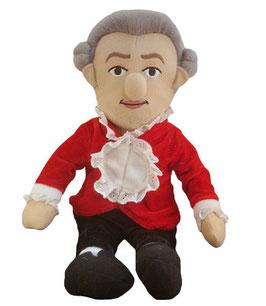 Mozart Puppe mit Spieluhr