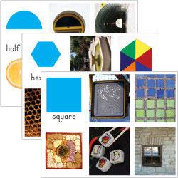 Bildkarten geometrische Formen