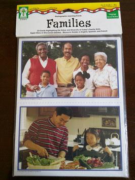 Sprachlernkarten Familien