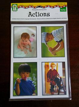 Sprachlernkarten Aktionen