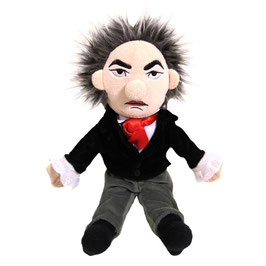 Beethoven Puppe mit Spieluhr