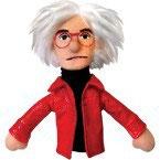 Andy Warhol Fingerpuppe