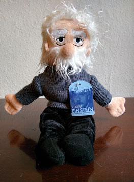 Puppe Albert Einstein