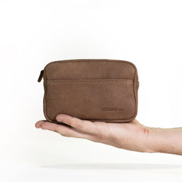 Chase, a travel pouch with extra utility pockets