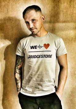 T- Shirt WE LOVE BRIDGESTONE