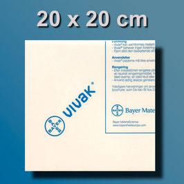 Druckplatte 20 x 20 cm