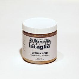 AKUA-Intaglio Metallic Gold