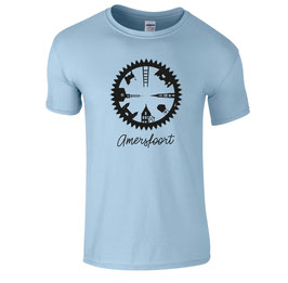 Urban Line: katoenen shirt CYCLE Amersfoort light blue