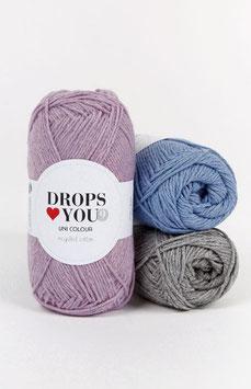 DROPS Love You #9 - farbenfroh und fröhlich aus recycelter Baumwolle