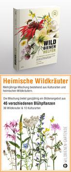 """WILDBIENENHELFER Buch + 1 Samentütchen """"Heimische Wildkräuter"""""""