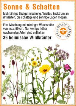 """Pflanzensamen / 3 Tütchen """"Sonne & Schatten"""""""