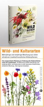 """WILDBIENENHELFER Buch + 1 Samentütchen """"Wild- und Kulturarten"""""""