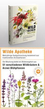 """WILDBIENENHELFER Buch + 1 Samentütchen """"Wilde Apotheke"""""""