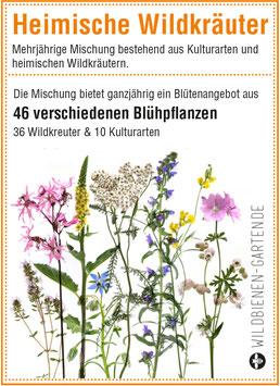 """Pflanzensamen / 3 Tütchen """"Heimische Wildkräuter"""""""