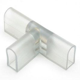 Коннектор Т-образный для светодиодного неона 8*16мм