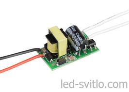Драйвер для светодиодов 1-3*1Вт 220В Бескорпусный