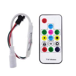 RGB Контроллер 5А с радио пультом для светодиодной ленты пиксельной